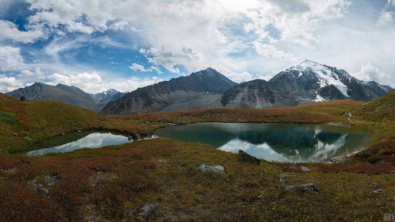 алтай, озеро, горы, ледник, осень, Долина семи озерphoto preview