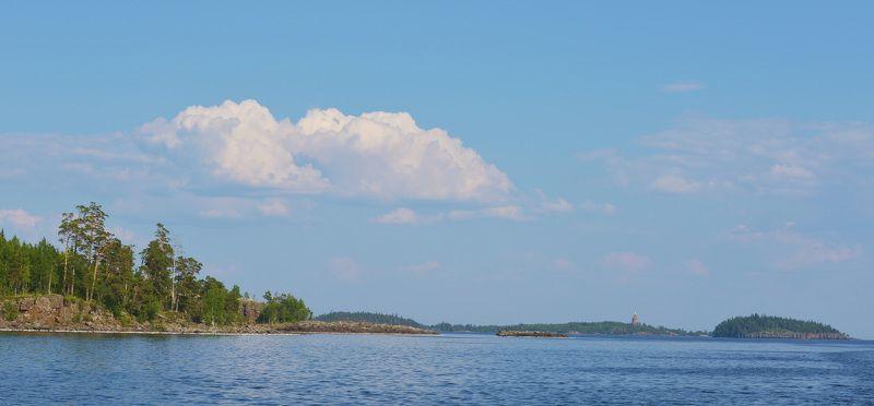 ладога, валаам, дивный остров, дивная бухта Южный берег Валаамаphoto preview