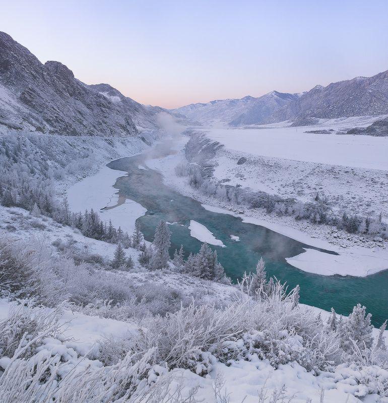 ...Вечер у зимней реки...2photo preview