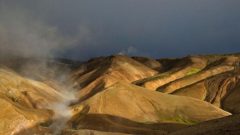 исландия, iceland,  travel in iceland, цветные горы исландии, kerlingarfjöll, mountains in iceland, icelandic mountains, путешествие по исландии, icelandic Хайкинг по цветным горам Исландииphoto preview