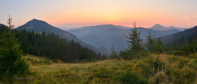 карпаты, горы, мармаросский массив, утро, рассвет Ещё про утро в горахphoto preview