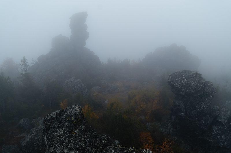 Буддизм, осень, пейзаж, Урал, Качканар, москвич, природа,  Осень на среднем Урале.photo preview