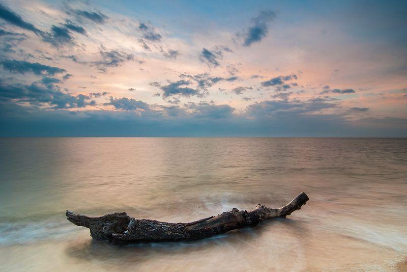 Рассвет на Азовском мореphoto preview