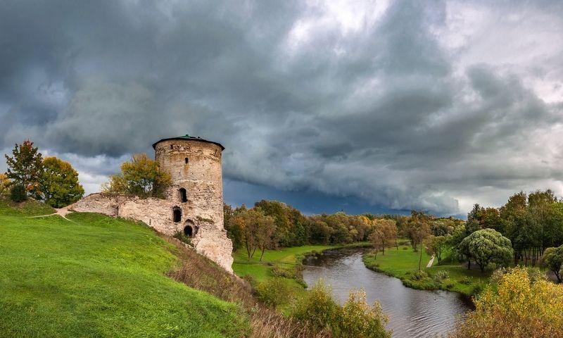 пейзаж Осень-время тёмных туч...photo preview