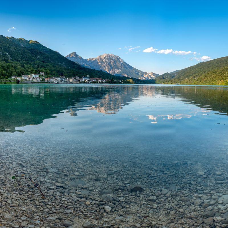 Italy, Dolomites, Landscape, Lake, Panoramic Lake Barcisphoto preview