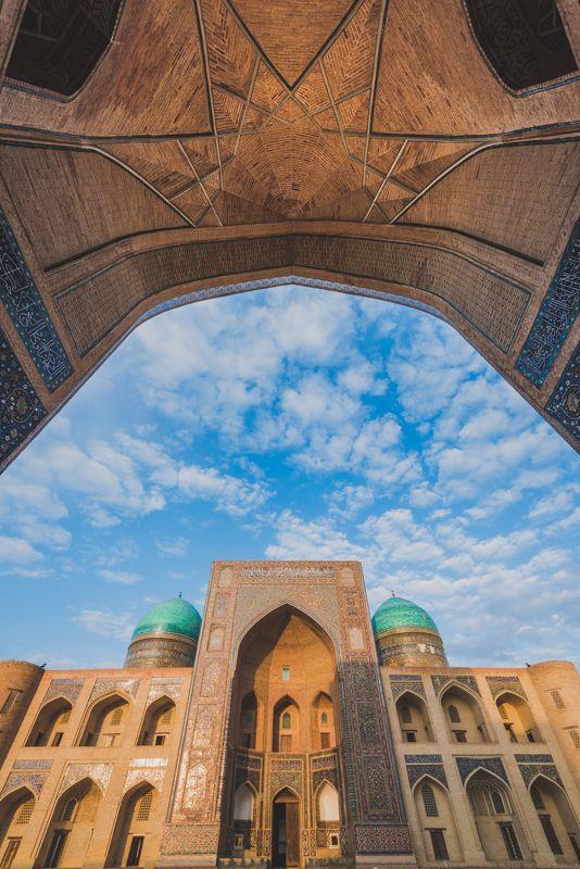 #бухара #узбекистан #архитектура #фототур Хлопковое небо Бухарыphoto preview