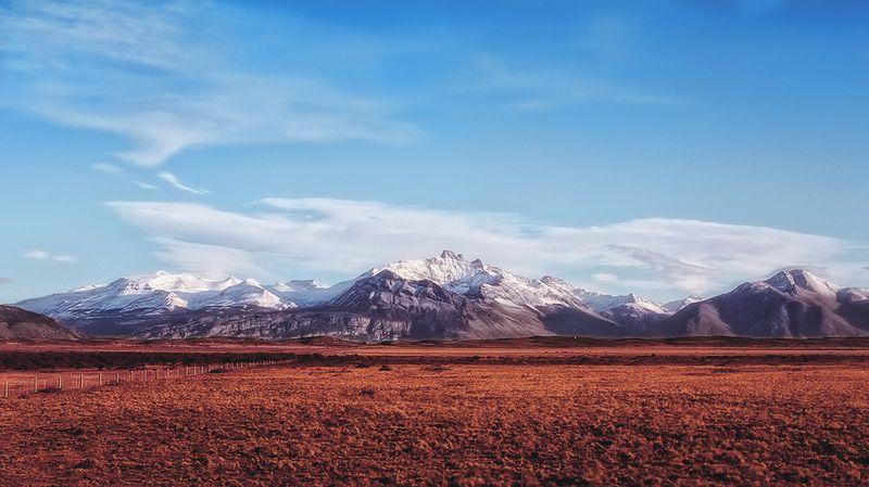 antrisolja,nature,landscape,patagonia,autumn,fall,argentina Пылающее утро Югаphoto preview