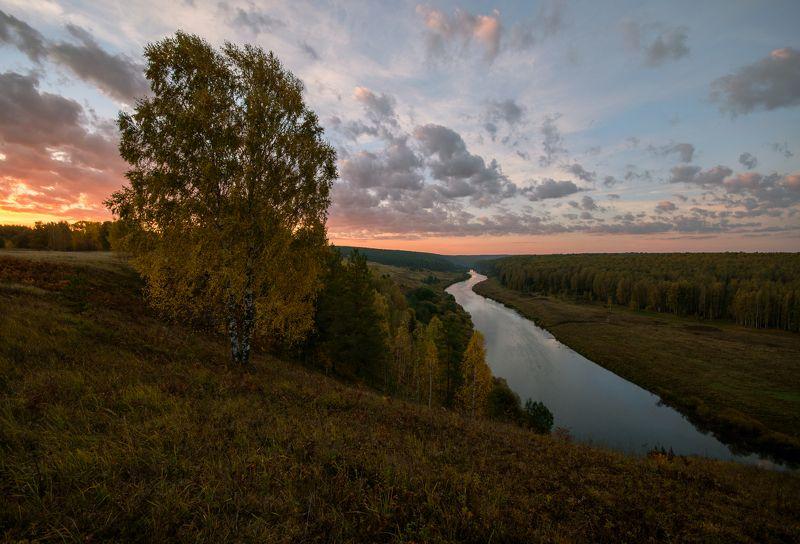 осень,природа,Россия,Вятка Осенний рассветphoto preview