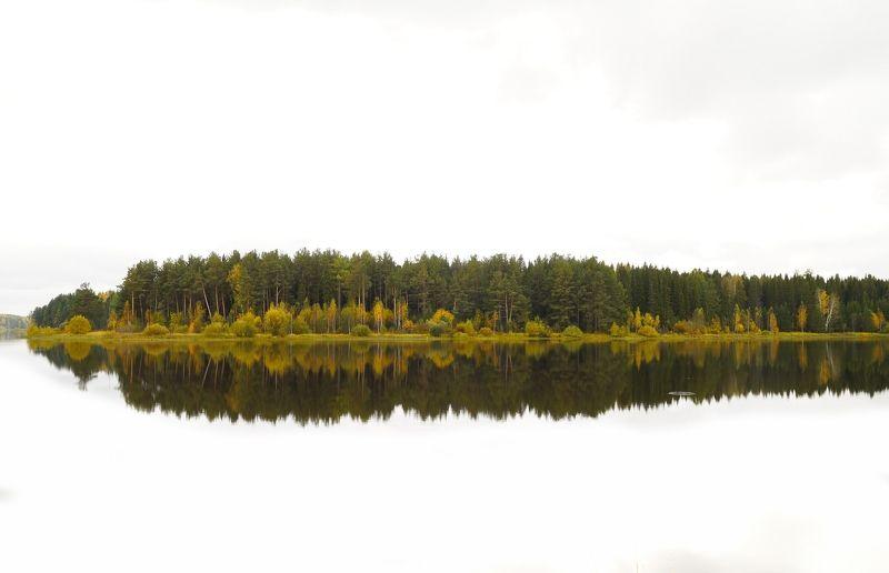 пейзаж,река,тура,берег,пейзаж,осень ***photo preview