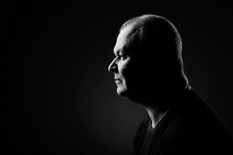 фотопроект, профиль лица, Евгений (дальнобойщик)photo preview