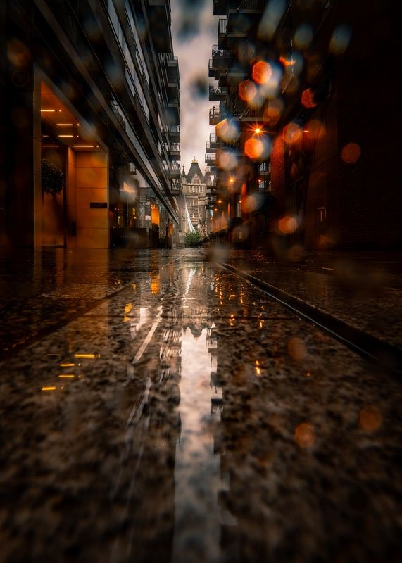 architecture  rainy day photo preview