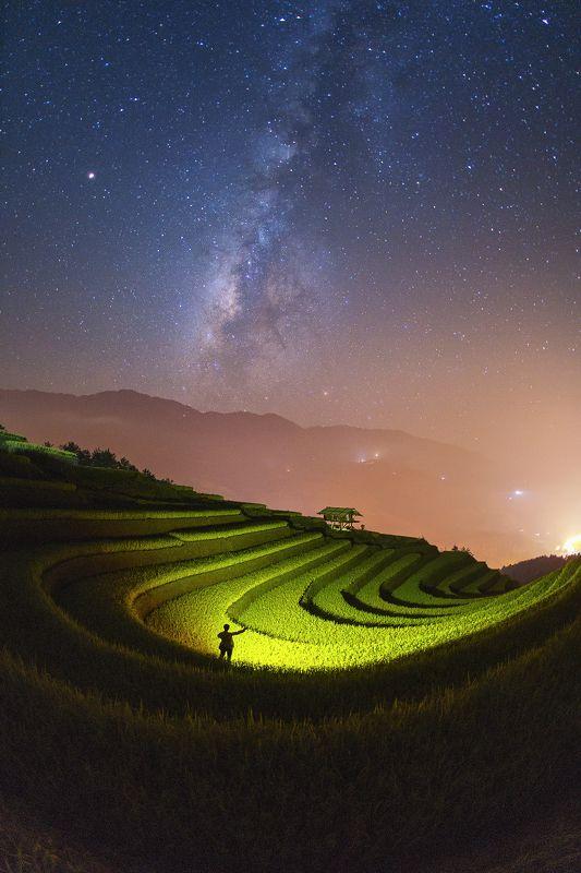 vietnam,terrace,ricefield,landscape,saravutwhanset,millkyway Mucangchai,Vietnamphoto preview