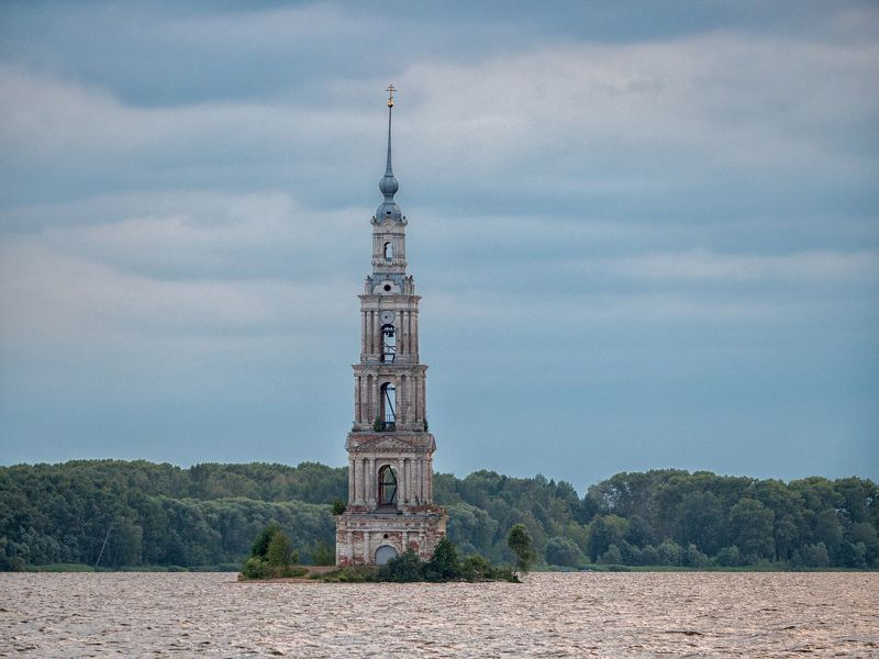 lumix russia фотограф москва  городской пейзаж  urban landscape Затопленная колокольняphoto preview