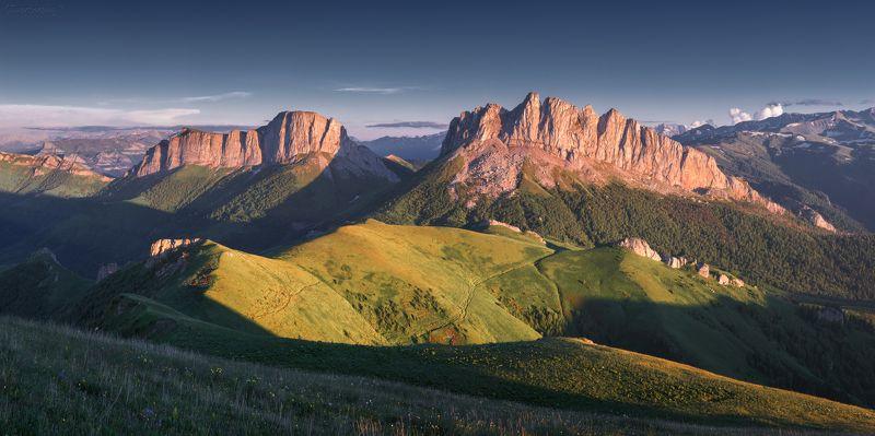 адыгея, кавказ, горы, чертовы ворота, ачешбоки, большой тхач Ачешбоки фото превью