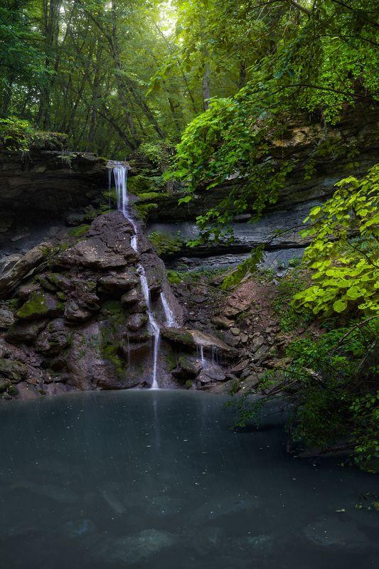адыгея, водопад, каменномостский Водопад \