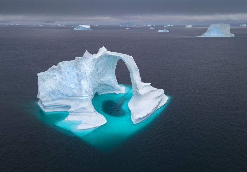 гренландия, greenland Гренландская дронографияphoto preview
