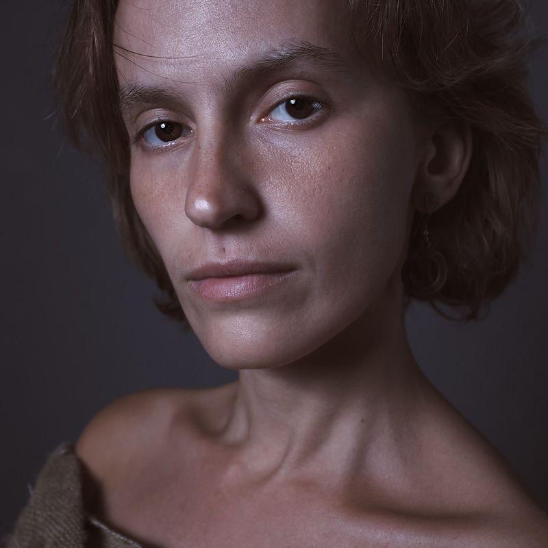 портрет, глаза, дисторсия, живопись, студия, воронеж Люди разныеphoto preview