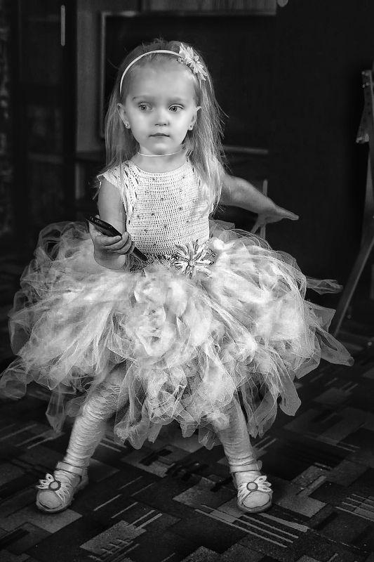 Детство, семья, портрет, чб, childhood, child, family, portrait, bnw  Волшебницаphoto preview