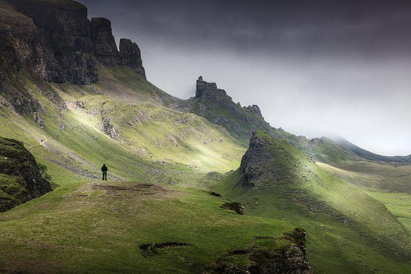 scotland, quiraing, isle of skye, landscape, шотландия, пейзаж, остров скай photo preview
