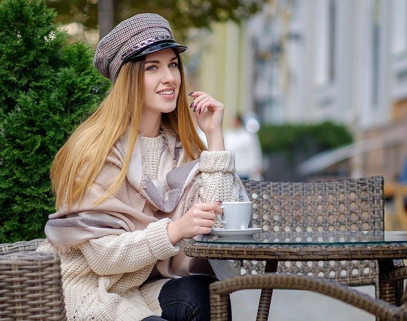 portrait,fashion,girl,coffee Портрет в стиле bonjourphoto preview