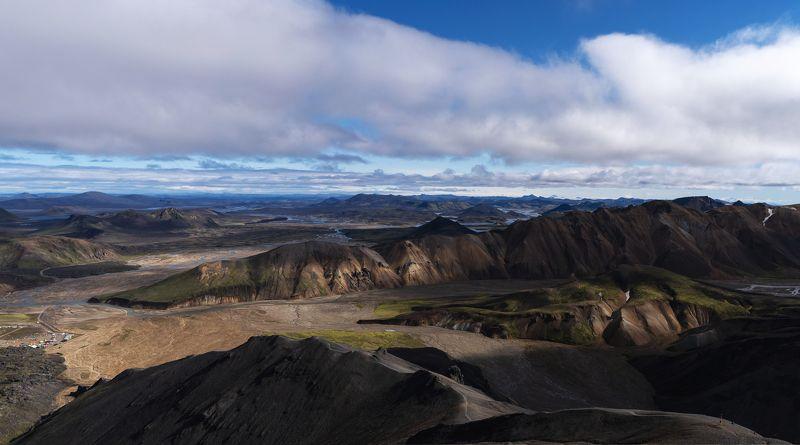 Исландия Цветные горы Landmannalaugar Исландияphoto preview