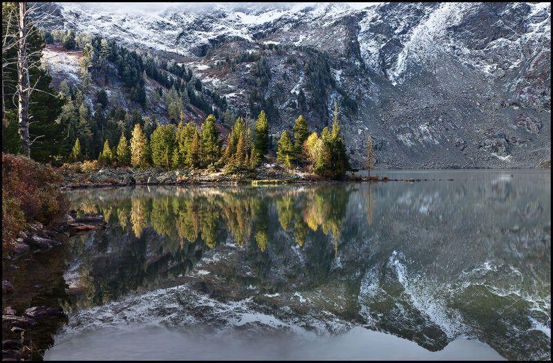 алтай, озеро, красное, горы, утро Утро на Красном Озереphoto preview