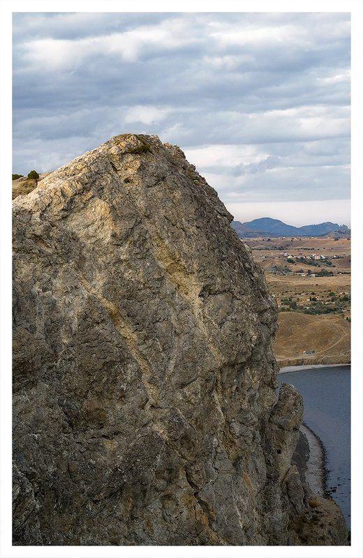 алчак, море, судак, крым, горы Алчак-Каяphoto preview
