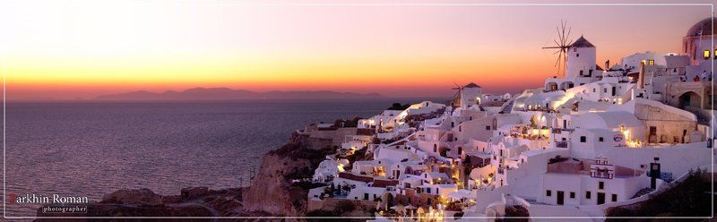 greece, santorini, ia, sunset Iaphoto preview