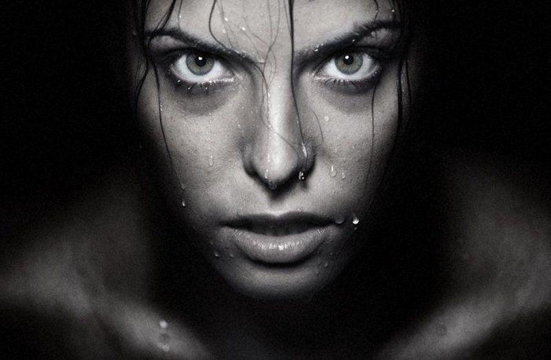 portrait, woman, wet, water, flow, face, photography, portraiture, human Wetphoto preview