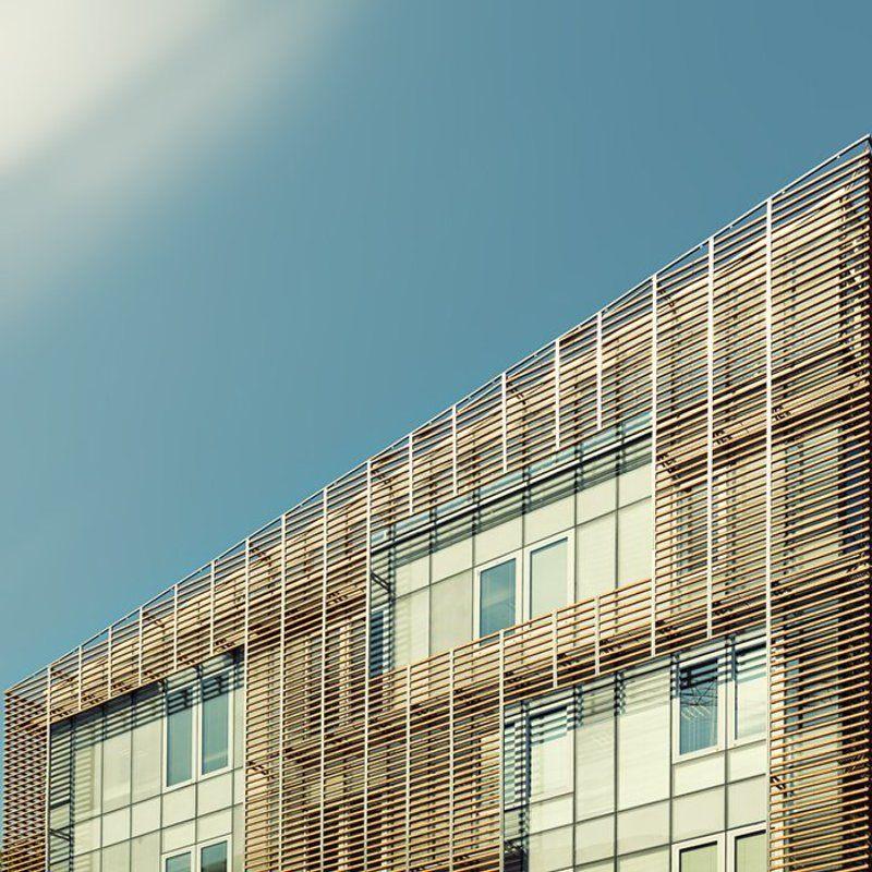 город, улица, люди, геометрия, небо, лето, здание, дорога, самолет *****photo preview
