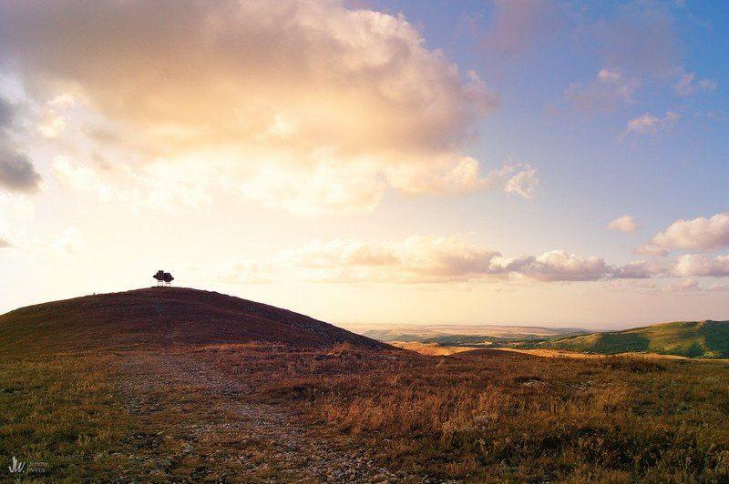 крым, димерджи, горы, закат Димерджиphoto preview