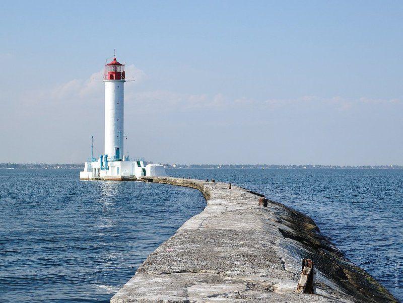 маяк, одесса, порт Тропа маячника...photo preview