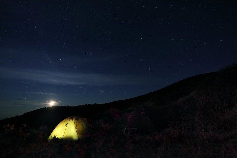 Ночь в горах.photo preview