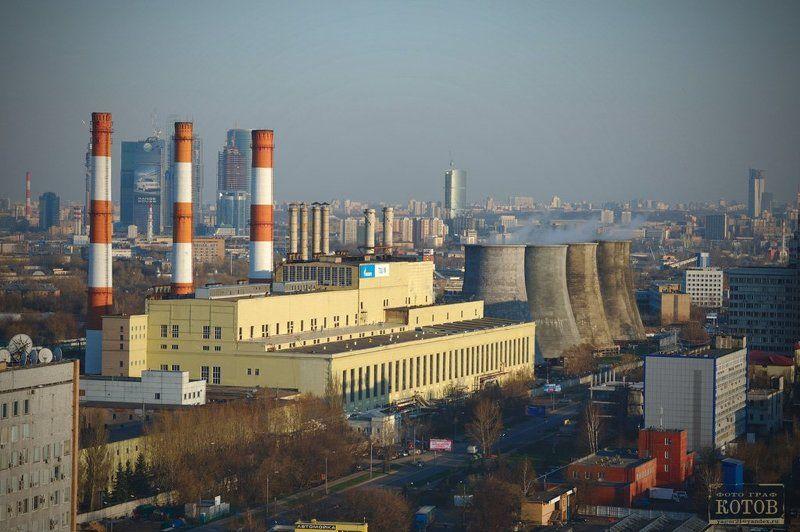 москва, крыши, город, ночь Москва с крыш. Вид с чердака.photo preview
