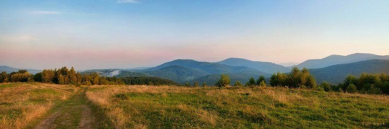 украина, карпаты, природа, горы, рассвет ***photo preview
