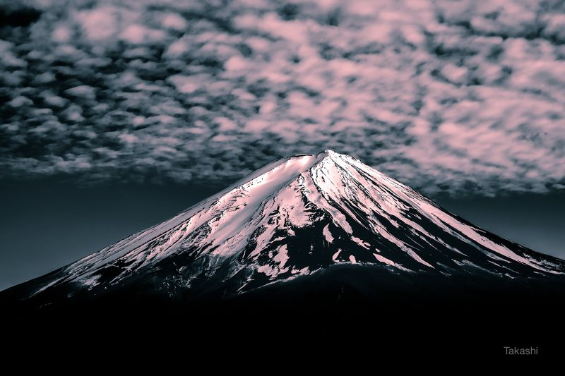 fuji,mountain,snow,cloud, Clouds on Mt Fujiphoto preview