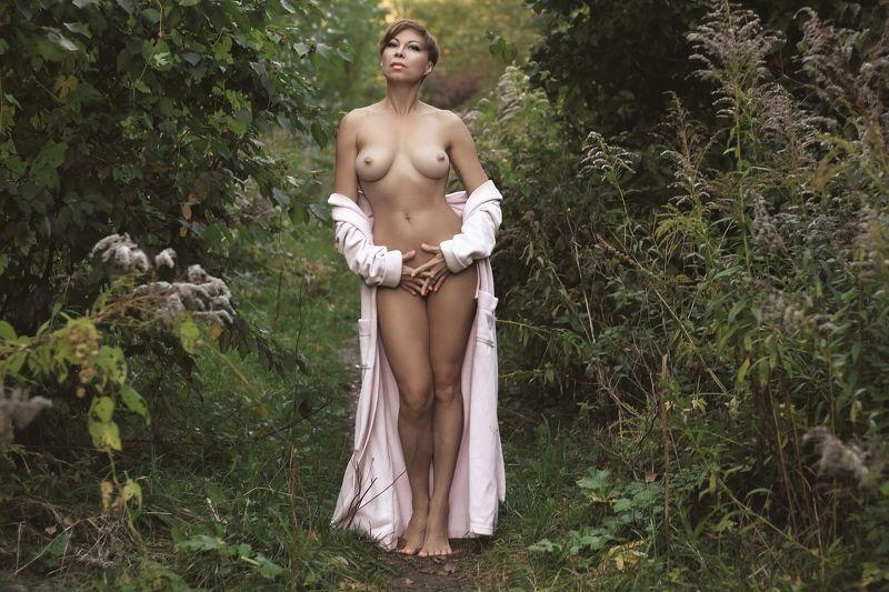 лес, девушка, ню.. В покоях леса...photo preview