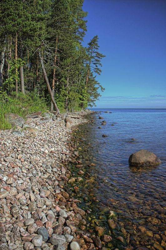 остров, природа, вода, деревья, камни, озеро islandphoto preview