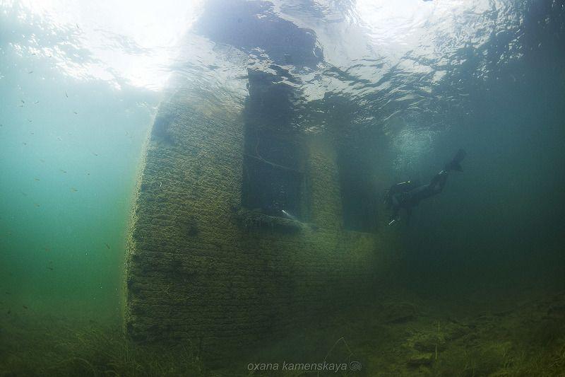 underwater wreck diver mine rummu Есть кто дома?photo preview