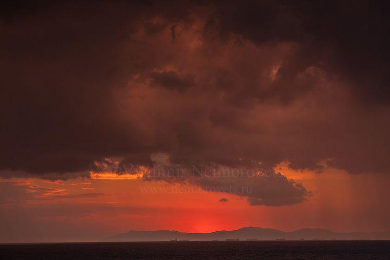 чёрное море, джанхот, штормовое предупреждение, небо, тучи, закат, sunset, dawn, dramatic sky, dusk, moody sky, evening, black sea, storm warning, dzhankhot Штормовое предупреждениеphoto preview