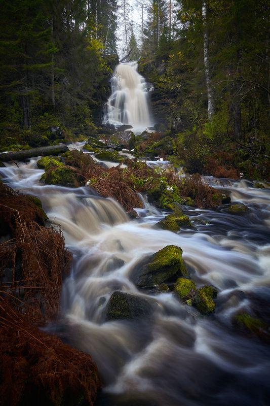 карелия, белые мосты, юканкоски, водопад Водопад Юканкоскиphoto preview