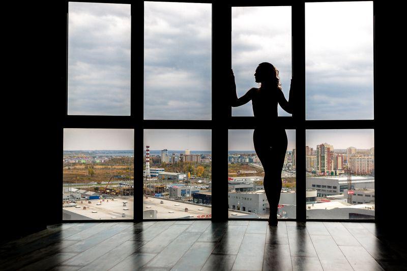 окна, женщины, силуэт, люди, женщины, один человек, закрытый, с подсветкой, глядя через окно, образа жизни, взрослый, красивый, бизнес, городские сцены,   архитектура, современный В Челябинскеphoto preview