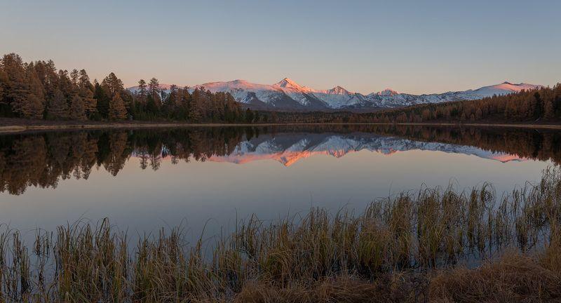 Киделю, Горный Алтай, горы, осень photo preview