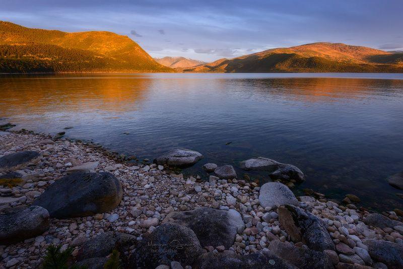 байкал, осень, озеро, горы, закат Байкальская осеньphoto preview