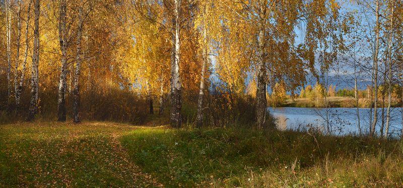 У озера. Октябрьphoto preview