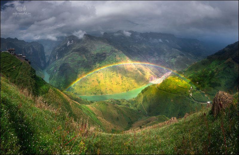 Вьетнам, пейзаж, северный Вьетнам, фототур, радуга Пейзаж Северного Вьетнамаphoto preview