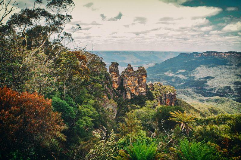 Blue Mountain Australia Blue Mountain photo preview