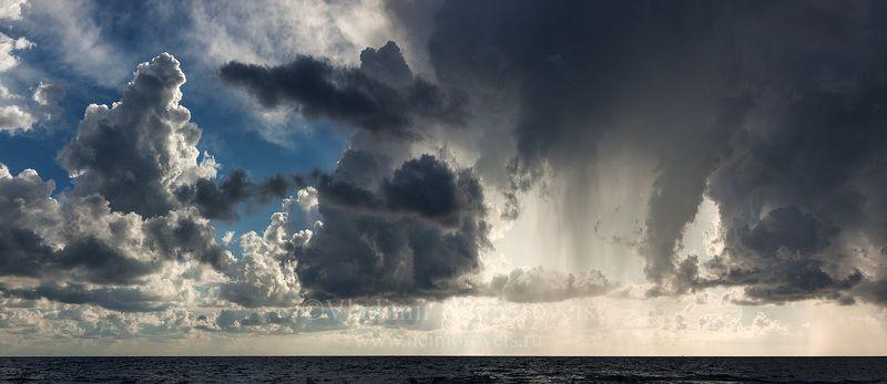 Чёрное море, Джанхот, штормовое предупреждение, небо, тучи, закат, sunset, dawn, clouds, dramatic sky, dusk, moody sky, evening, Black Sea, Storm Warning, Dzhankhot Небо над Чёрным моремphoto preview