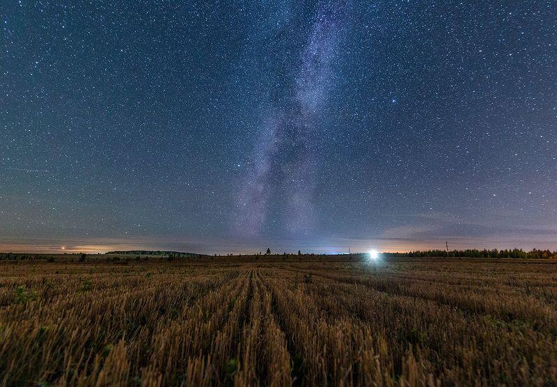 ночь, звезды, tamron Холодная ночь в октябреphoto preview
