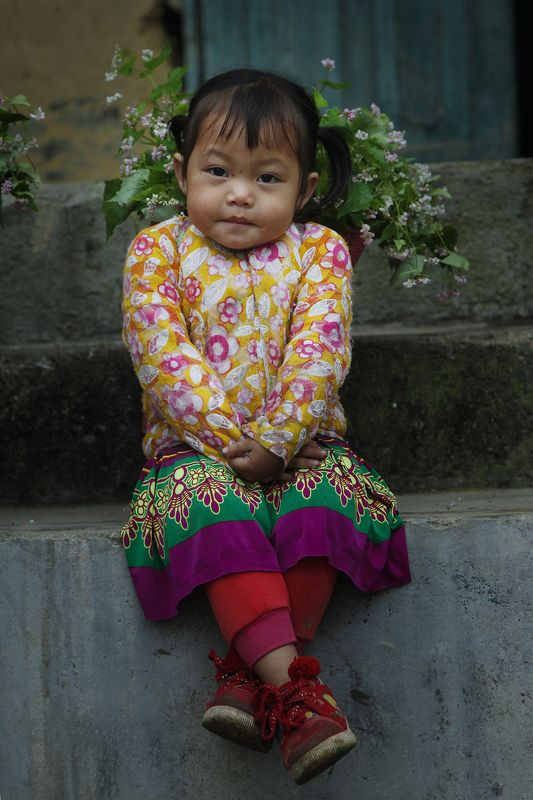 baby in Ha Giang, Vietnamphoto preview